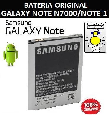 bateria samsung galaxy note 1 i9200 n7000 nueva y original