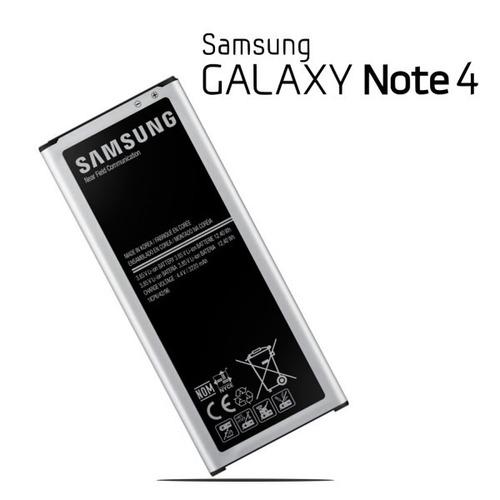 bateria samsung galaxy note 4 + vidrio templado regalo