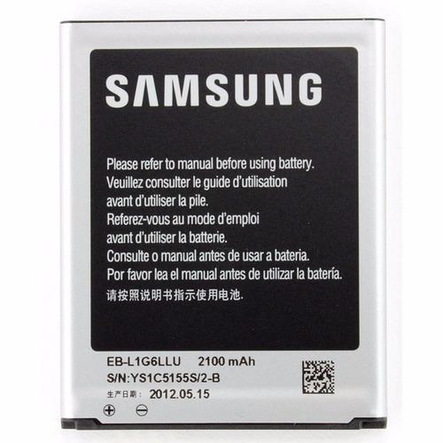 batería samsung galaxy s3 gt-i9300 eb-l1g6llu 2100mah 3.8v