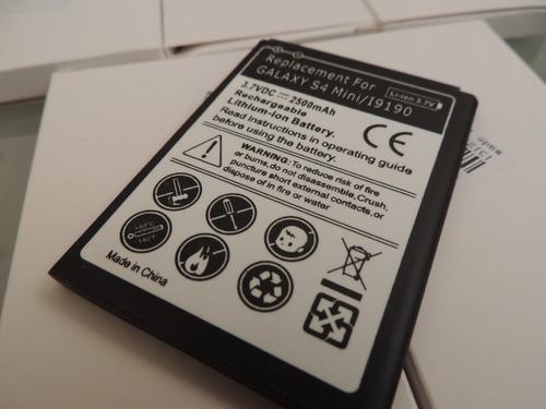 bateria samsung galaxy s4 mini i9190 2500 mahr alta duración