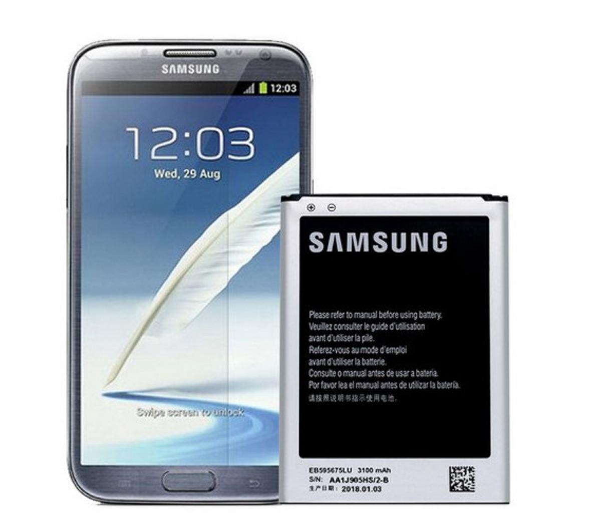 720af62c2f2 Batería Samsung Note 2 Eb-595675lu Original Nueva - $ 60.000 en ...
