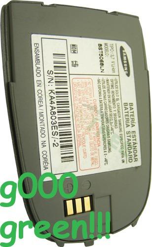 bateria  samsung  original x636 a pedido de 900mah capacidad