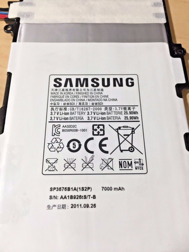 bateria samsung tab