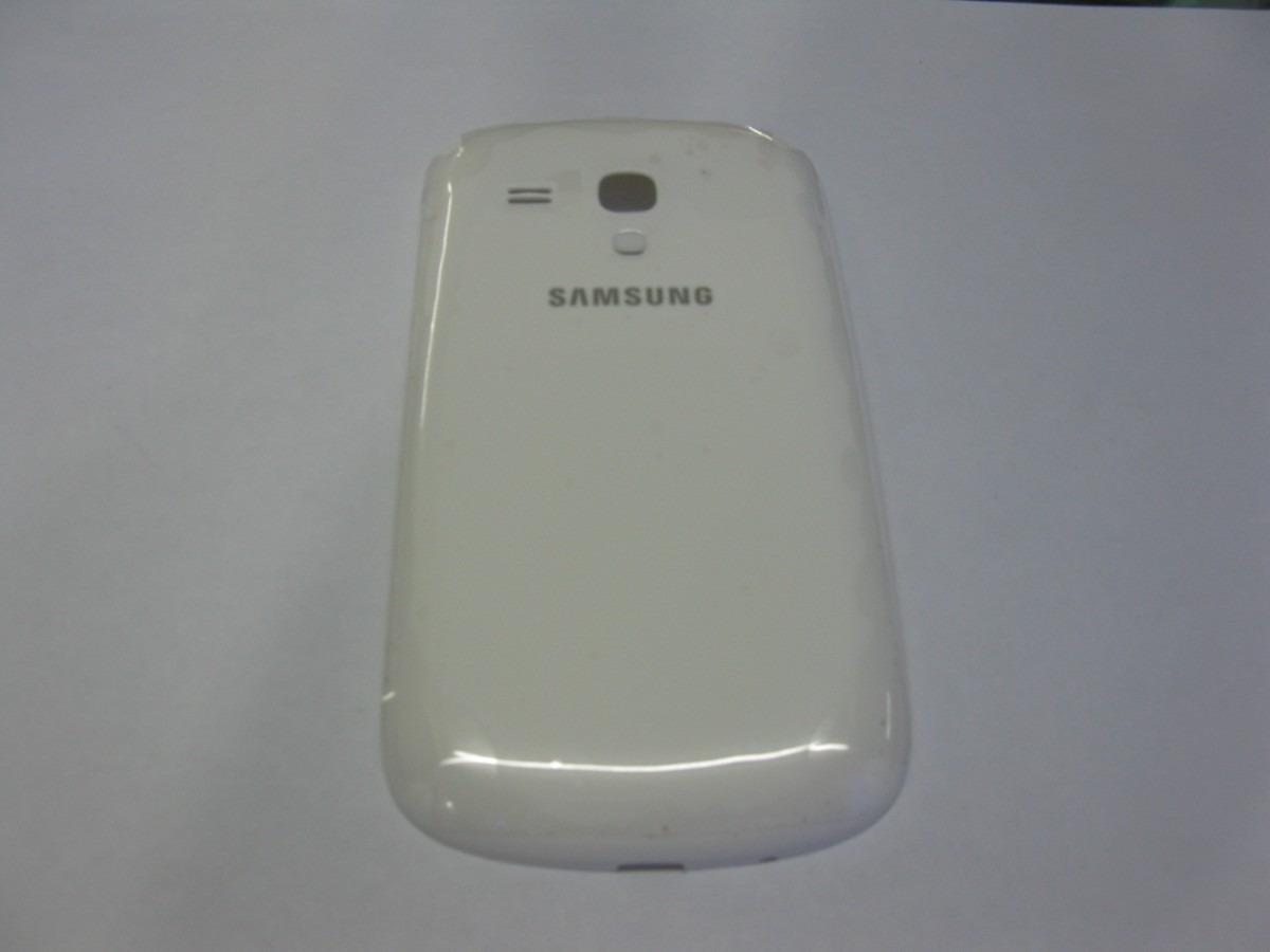 a5d2e403c41 Tapa De Bateria Samsung Galaxy S3 Mini I8190 A Zul Y Blanco - S/ 14 ...