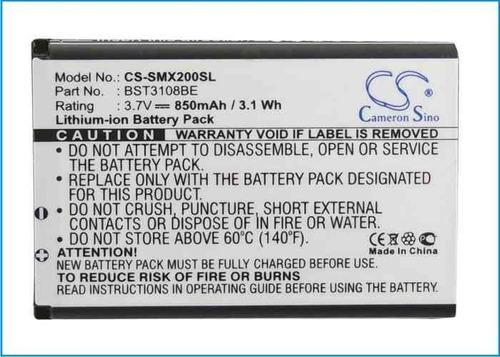 bateria samsung x156 e900 e906 e1075 e1085 e1086 e1117 e2210