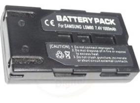 SB-LSM80 Batería para Samsung SCD363 SC-D363 SCD353 SC-D353 MiNiDV Videocámara