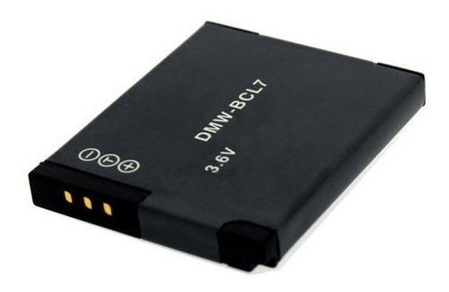 bateria sddmwbcl7e para panasonic dmw-bcl7e camera