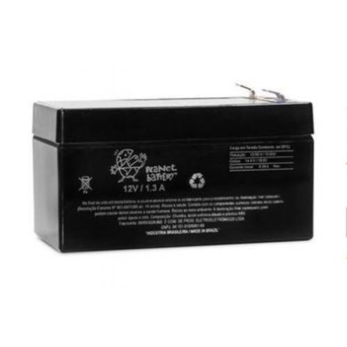 bateria selada 12v 1,3ah nobreak cerca eletrica alarme cftv