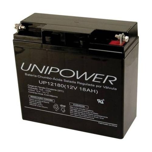 bateria selada 12v 18ah m5 up12180 unipower