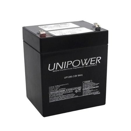 bateria selada 5,0 a/h 12v alarme nobreak