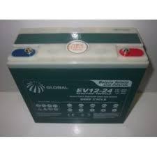 bateria selada ev12-24 ciclo profundo 12v24ah/20hr 6-dzm-20