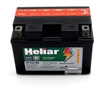 bateria selada heliar (ht12a-bs - yt12a-bs)