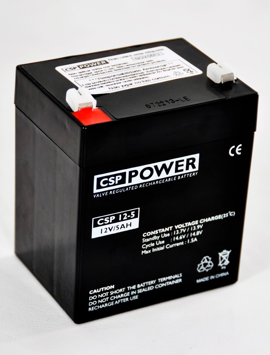 Bateria Selada P  No-break 12v 5ah Importada Marca Csp Power - R ... 05d4c16d5f161