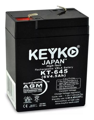 batería sellada 6v 4 amp.  lampara de emergencia  ups