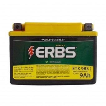 bateria shadow 600 / xt600 / cb500 / v-blade etx 9 bs erbs