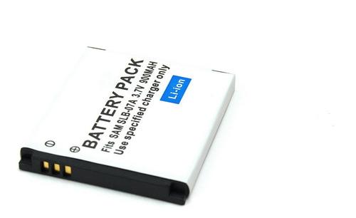 batería slb-07a para cámara samsung pl150 tl100 st45 tl90 y+