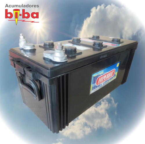 batería solar, ciclo profundo 12 v. 160 ah, hiperbat