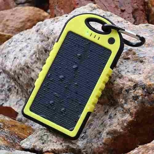 bateria solar impermeable de 5000 mha  power bank aventura