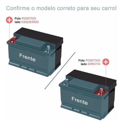 bateria som stroke power free 60ah/hora e 430ah/pico civic.
