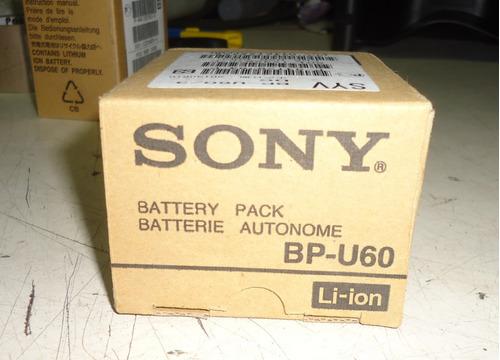 bateria sony bp-u60 3700mah