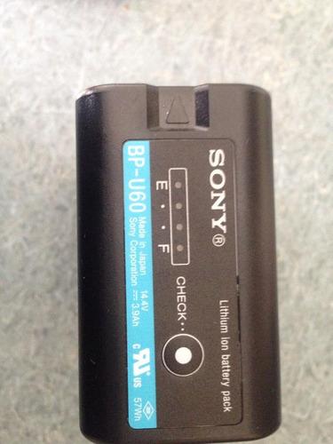 batería sony de ión de litio bp-u60  57wh  oferta