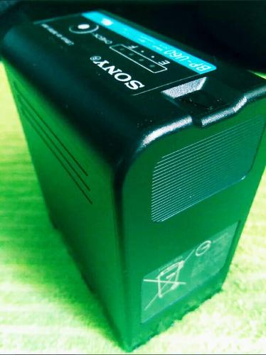 batería sony de ión litio bp-u60 (57 wh) cámaras profesional