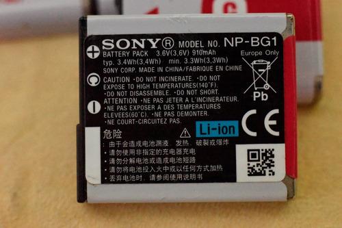 bateria sony np-bg1 ( original, usada )