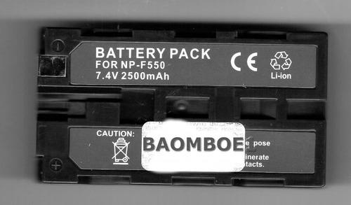 bateria sony np-f550 alto rendimiento dcr-trv130 / dcrtrv130