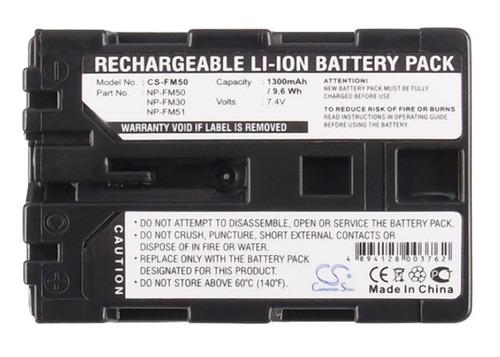 bateria sony np-fm50 dcr-trv39 / dcrtrv39 / trv39