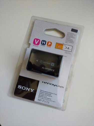 bateria sony np-fv70 c/ fv100 fv50 fv30 fh70 fh30 fh70 fh100