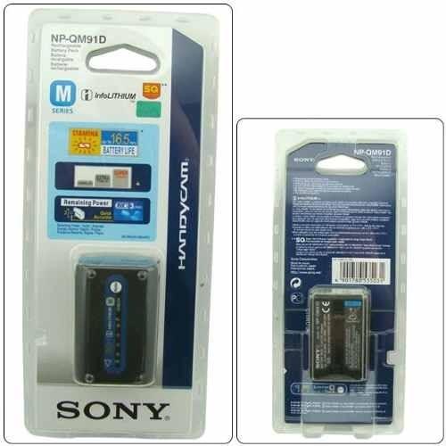 bateria sony np qm91d tipo m serie original nueva recargable