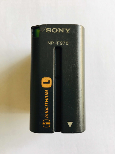 batería sony para luz led npf970