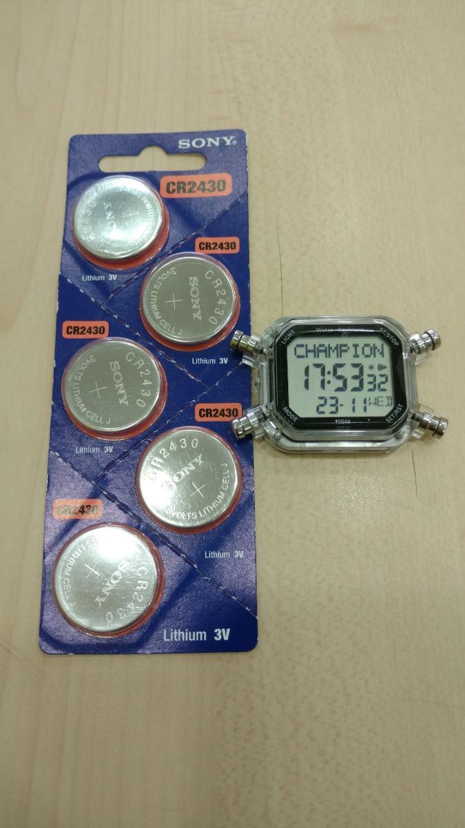 0492461c0e6 Bateria Sony Para Relógio Champion Yot Cp40180x - R  29