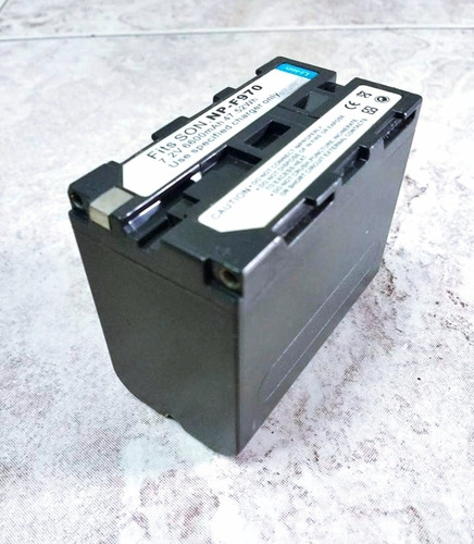 bateria sony serie np f970, np-f975, np-f960, np-f950