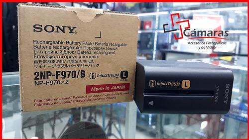 bateria sony tipo l np-f970 original (por unidad)