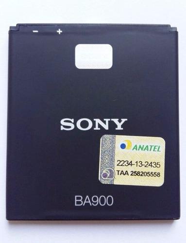 bateria sony xperia j st26a st26i tx lt29i ba900 original