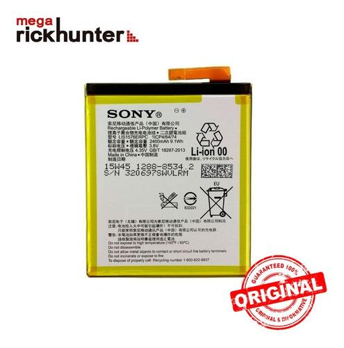 batería sony xperia m4 aqua original nuevo megarickhunter