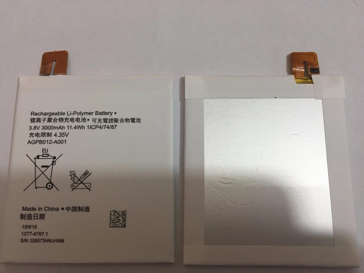Bateria Sony Xperia T2 Ultra D53 Xx Agpb012 A001 Nueva 15500 En Baterai Cargando Zoom