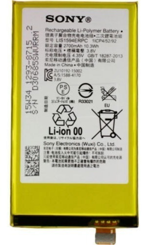 bateria sony xperia z5 compact mini e5823 e5803 original