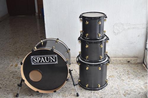 batería spaun custom maple  (shell pack)dw tama pearl mapex