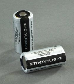 bateria streamlight 85177 cr123a  pack:12 unid
