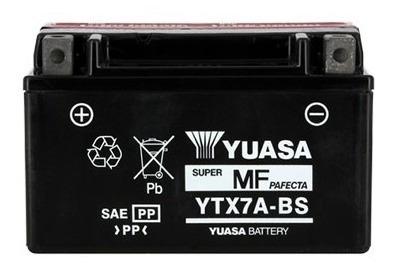bateria suzuki ltr 450 yuasa ytx7a-bs juri atv
