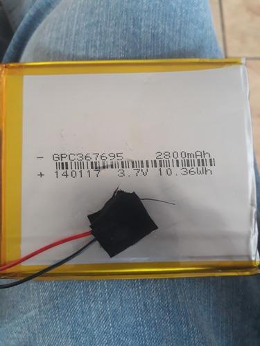 bateria tablet 2800ma 3.7v retirada