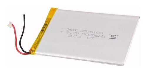 bateria tablet 7 pulgadas 3000 mah tienda física plaza vzla