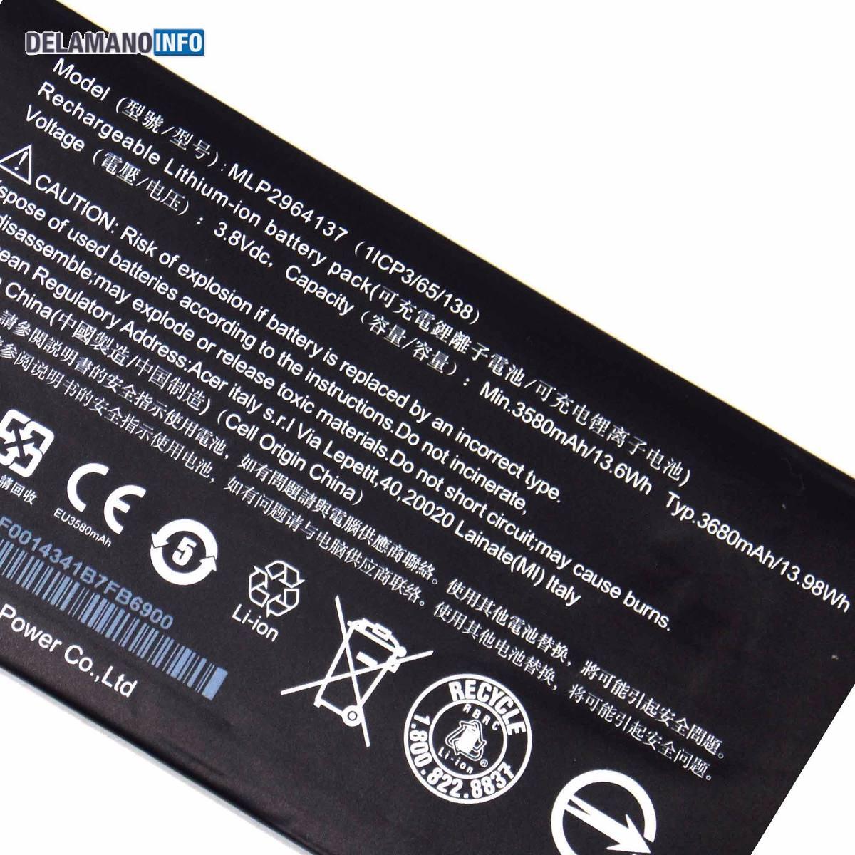 Bateria Tablet Acer Iconia One 7 B1 730 19e2 6718