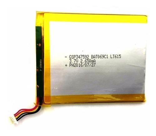 bateria tablet dl drop kids tx328 tx328bra 5 fios conector