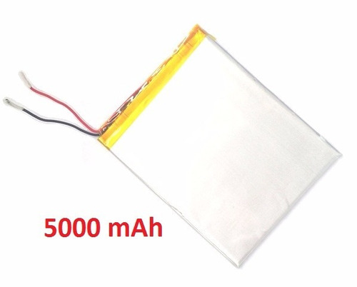 bateria tablet power pack powerpack 7204 5000 mah + duração