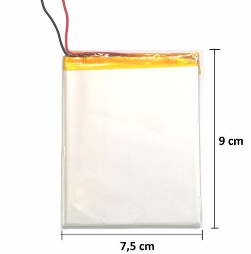 bateria tablet power pack powerpack 7304 5000 mah + duração