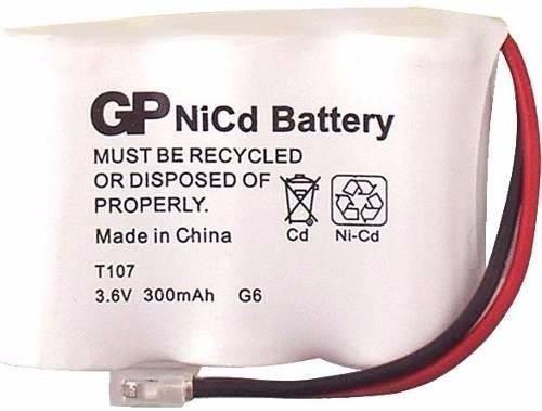 bateria telefone sem fio gpx t107 3,6v 300mah em curitiba !