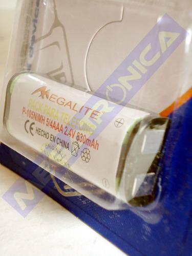 bateria telefono inalambrico hhr p-105 830mah megalite panas